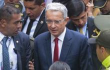 El expresidente y senador Álvaro Uribe.