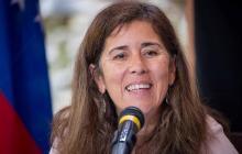 Jefa de la delegación de la Unión Europea (UE) en Caracas, Isabel Brilhante Pedrosa.