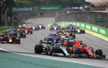 Imagen de un gran premio de la Fórmula Uno.