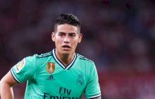 James fuera de la lista del Real Madrid para medirse al Athletic de Bilbao