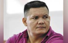 John Jairo Esquivel Cuadrado, alias El Tigre, desmovilizado de las AUC.