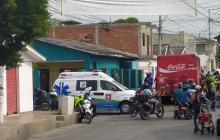 En video   Reportan accidente de tránsito en el barrio Buena Esperanza