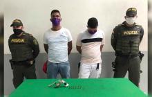 Capturados dos hombres tras cometer robo en empresa de giros