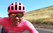 Sergio Higuita, ciclista colombiano de 22 años de edad.
