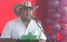 Domingo Ortiz Salgado, dirigente indígena de la etnia Zenú.