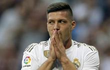 Jovic, delantero del Real Madrid.