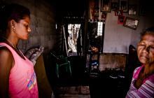 Hambre, lágrimas y muerte: tragedia sobre tragedia en Tasajera