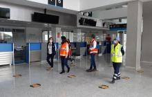 Aerocivil presentó primer balance de los protocolos en aeropuertos
