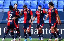 El Génova, con el colombiano Cristian Zapata de titular, sale del descenso