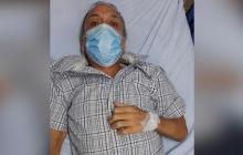 Así luce Giovanni José Fuentes Charris, de 59 años de edad, tras su recuperación del coronavirus.