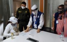 Exgobernadora de La Guajira se entrega a las autoridades en Riohacha