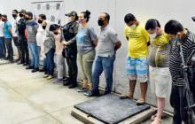 La más reciente operación de las autoridades contra 'Los Pachenca' dejó un total de 17 capturados.