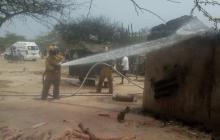 Murió mujer que resultó quemada en la explosión de su casa en La Guajira