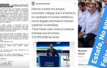 Congresista Armando Zabaraín denunció que le suplantaron su identidad