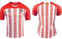 Esta es la nueva camiseta de Junior