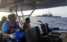 Colombia y Nicaragua rescatan a dos pescadores en alta mar