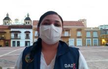 Johana Bueno, directora (e) de Dadis.