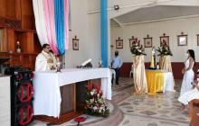 Una caravana y una explosión, en celebración de la Virgen en La Guajira