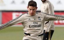 James, fuera de la lista para el último partido liguero del Real Madrid