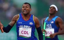 Anthony Zambrano, actual subcampeón mundial de 400 metros planos y clasificado a los Juegos Olímpicos Tokio 2021.