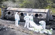 Identifican y trasladan a los primeros siete fallecidos de Tasajera