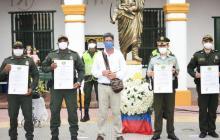 Alcaldía de Turbaco reconoce tarea de Policía y Armada