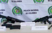 En Santa Marta incautan 2 fusiles y una pistola de la banda Los Pachenca