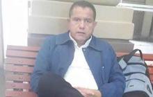 Foto en vida del docente fallecido en Sucre.