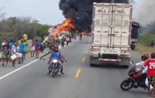 A 45 asciende la cifra de víctimas fatales por la tragedia en Tasajera