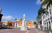 Buena parte de las joyerías están situadas en el Centro Histórico de Cartagena que permanece solo.