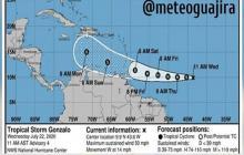 Tormenta tropical 'Gonzalo' podría afectar a La Guajira