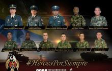 Encuentran sin vida a los dos militares desaparecidos del helicóptero