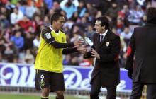 Emery junto a Bacca en su exitosa etapa en el Sevilla.