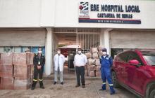 Ecopetrol entrega 14.000 trajes de bioseguridad a cuerpo médico de Cartagena