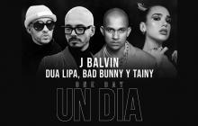 En video   Unión bilingüe: J Balvin, Dua Lipa y Bad Bunny en 'One day'