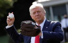 El presidente de Estados Unidos, Donald Trump, estará en el Yankee Stadium el 15 de agosto.