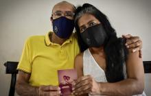 Rafael Granados y Carmen Herrera se conocieron hace 37 años. Hoy son sobrevivientes de la COVID-19.