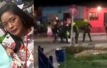 En video | Enfrentamiento con la Policía deja una mujer muerta en Rebolo