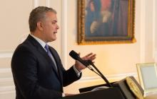 Duque arremete contra FARC por negación de reclutamiento de menores