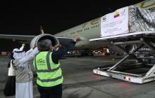 Emiratos Árabes envía ventiladores como parte de una tercera donación al país