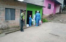 Garantizan alimentación para realizar cercos epidemiológicos en Sincelejo