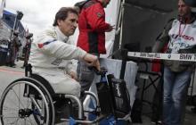 Zanardi estaba participando en la exhibición Obiettivo Tricolor el pasado 19 de junio cuando perdió el control de su handbike (triciclo manual).