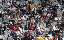 Los aficionados que asistieron a la final de la Copa de Francia entre PSG y Saint Etienne.