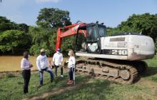La gobernadora Elsa Noguera puso en marcha las obras de construcción de 530 jagüeyes en el Atlántico.