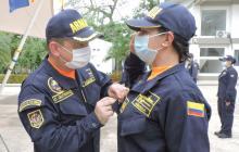 Una mujer asume el mando en la Estación Guardacostas de Coveñas