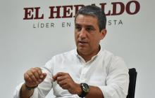 Fernando Jaramillo en una entrevista en EL HERALDO en marzo de 2017.