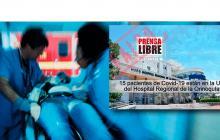 Hospital en la Orinoquía desmiente número de pacientes en UCI