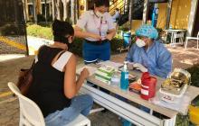 Distrito, CCB y Acopi realizaron jornada de pruebas rápidas de COVID-19 a mipymes