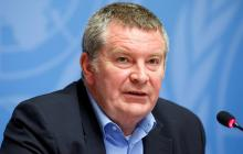 El director general adjunto de Emergencias de la Organización Mundial de la Salud (OMS) , Mike Ryan.