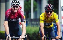 Egan Bernal y Chris Froome, juntos en el Ineos para la Ruta de Occitania